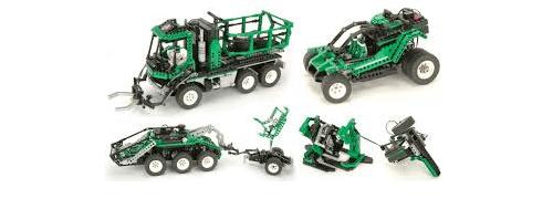 Lego Technic 8479 Barcode Truck