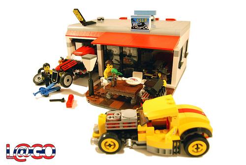 Lego Hot Rod Club