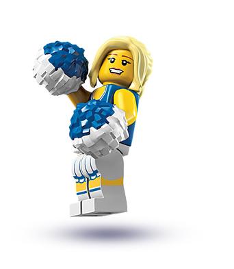 Lego Cheerleader