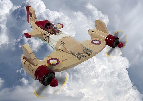 Lego Sky-fi Fighter