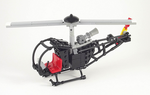 Lego Heliopter