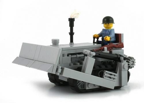 Lego M1 Bulldozer