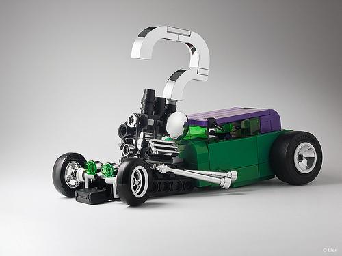 Lego Riddler Hot Rod