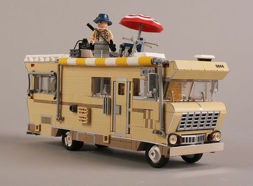 The Walking Dead Lego Winnebago