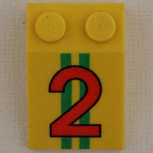 Lego Number 2