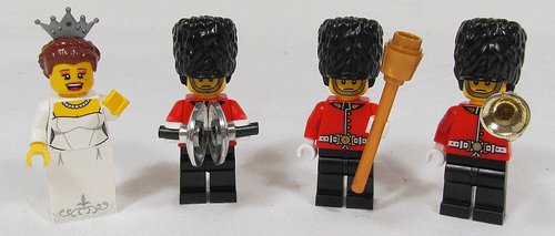 Lego Royal Minifigures