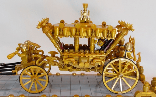 Lego Royal Gold State Coach