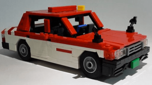 Lego Toyota Crown Comfort Taxi