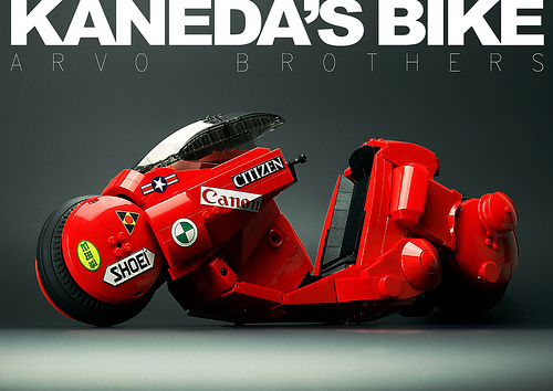 Lego Akira Kaneda Bike