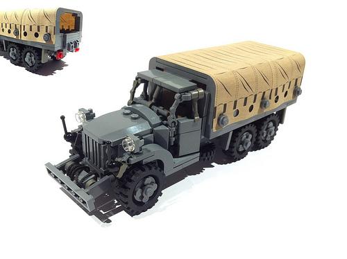 Lego GMC Army Truck