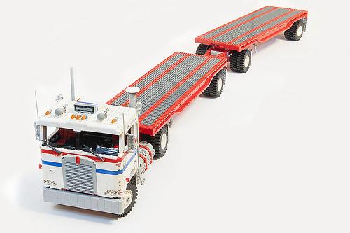 Lego Kenworth Truck