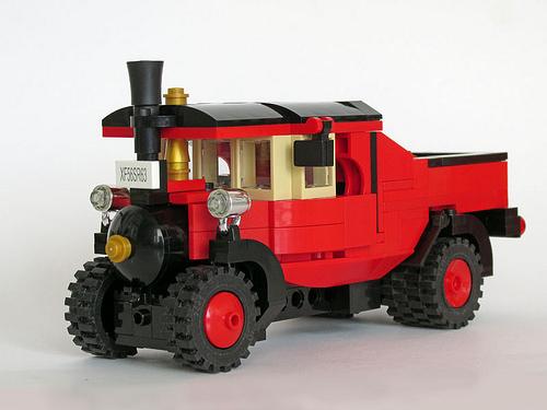 Lego Foden Steam Wagon