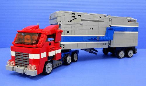 Lego Optimus Prime Powermaster