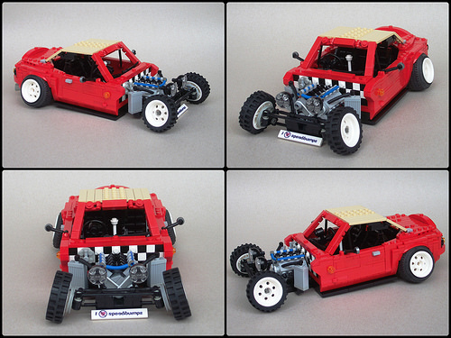 Lego Mazda MX-5 Miata Hot Rod