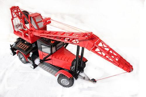 Lego ZIS Crane Truck