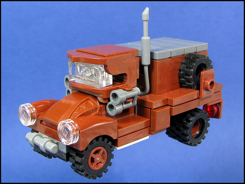 Lego Old Truck