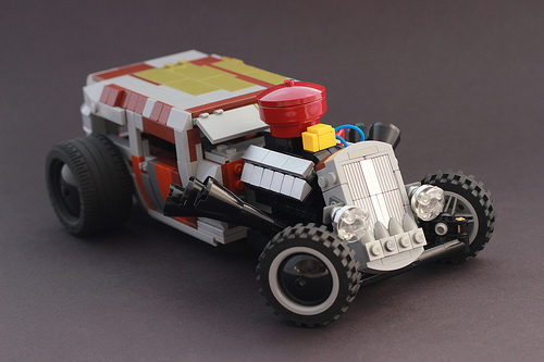 Lego Rat Rod
