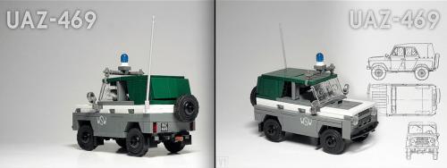 Lego UAZ 4x4