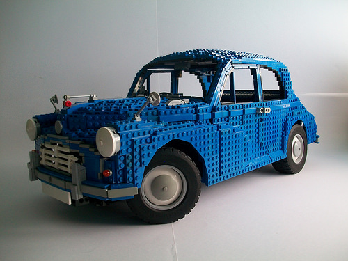 Lego Morris Minor