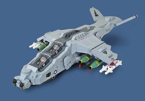 Lego VTOL Gunship