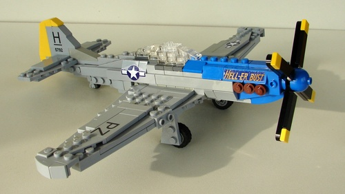 Lego P51 Mustang