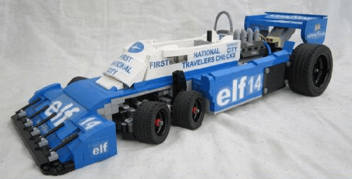Lego Tyrrell P34B