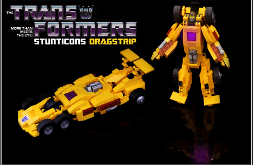 Lego Transformers Dragstrip