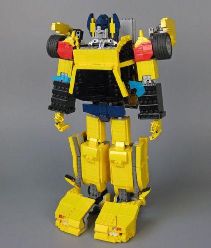 Lego Sunstreaker Robot