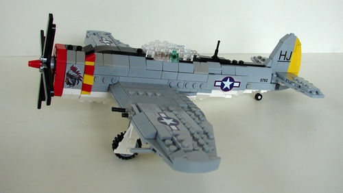 Lego P-47D Thunderbolt