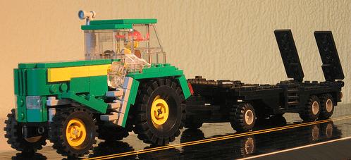 Lego John Deer Tractor