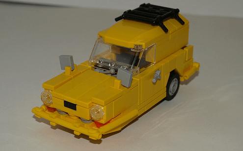 Lego Reliant Supervan