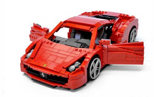 Lego Ferrari 458