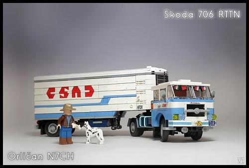 Lego Skoda Truck