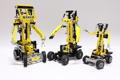 Lego Technic 8852 Robot