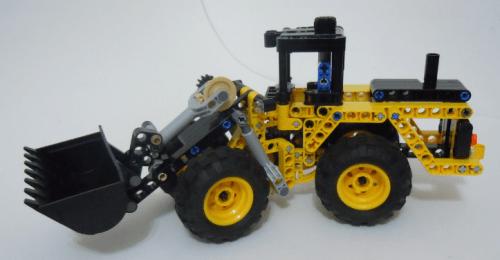 Lego Technic Front Loader Mini