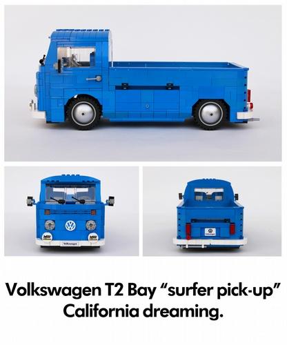 Lego Surf Bus