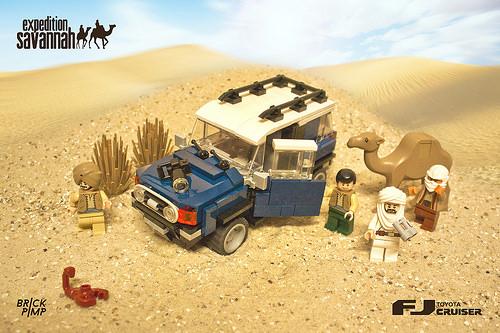 Lego Toyota FJ Cruiser
