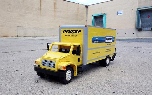 Lego Penske Rental Truck