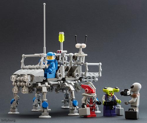 Lego Lunar Walker