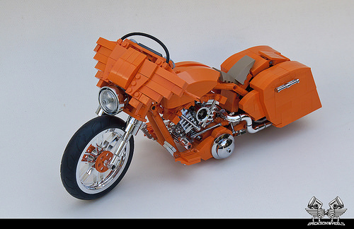 Lego Harley Davidson Street Glide