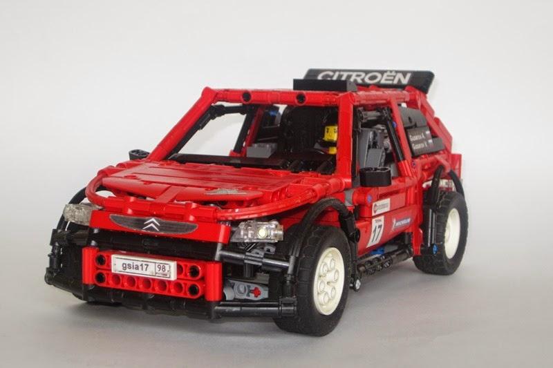 Lego Citroen Saxo