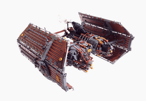 Lego Steam Wars Star Wars Tie Fighter