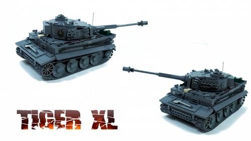 Lego World War RC Tank