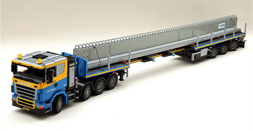 Lego Scania Truck Combex