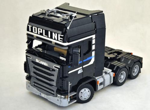 Lego Scania Topline Truck