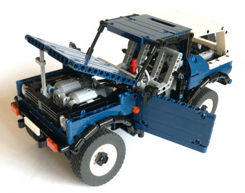 Lego Technic Suzuki Samurai 4x4