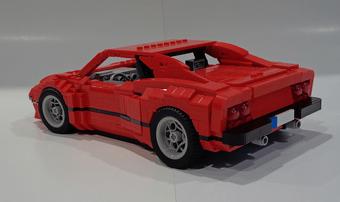 Lego Ferrari 288GTO