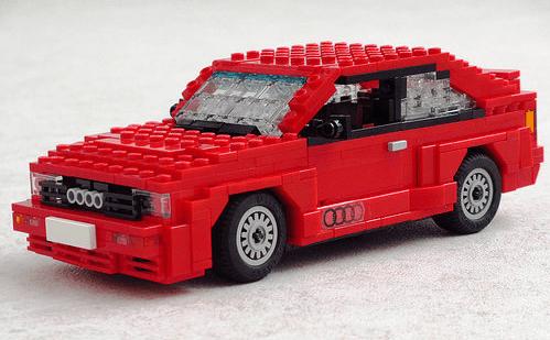 Lego Audi Quattro