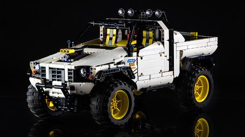 Lego 4x4 Truck