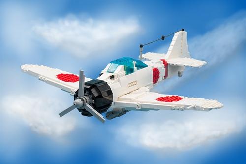 Lego A6M2 Zero
